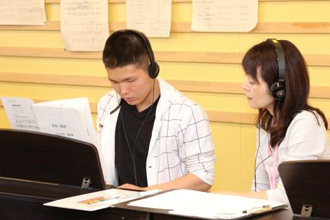 音楽科目 授業の様子
