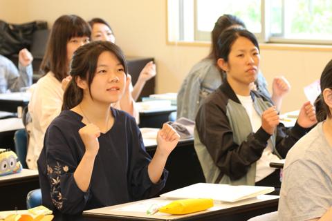 保育に関する科目 授業の様子